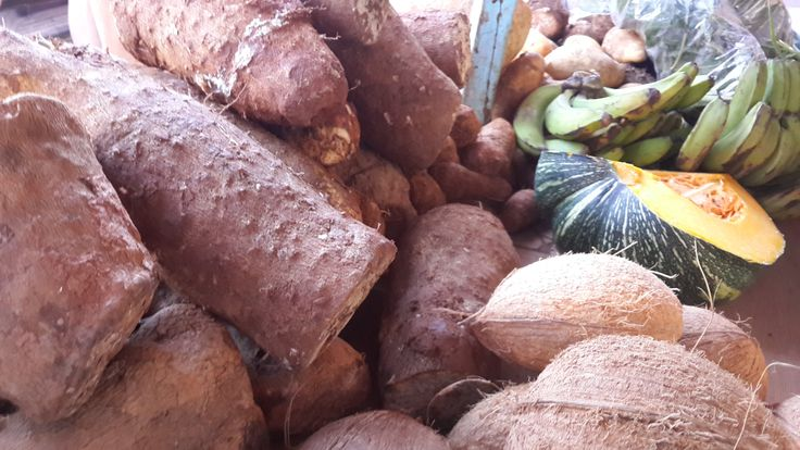 """Dried Coconuts and """"ground provisions"""""""