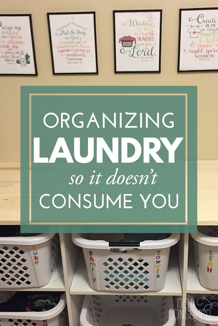 Is Mt. Laundry taking over your home? It's time to take control. You'll love these tips for organizing laundry, teaching kids to help and I've even got FREE printables!