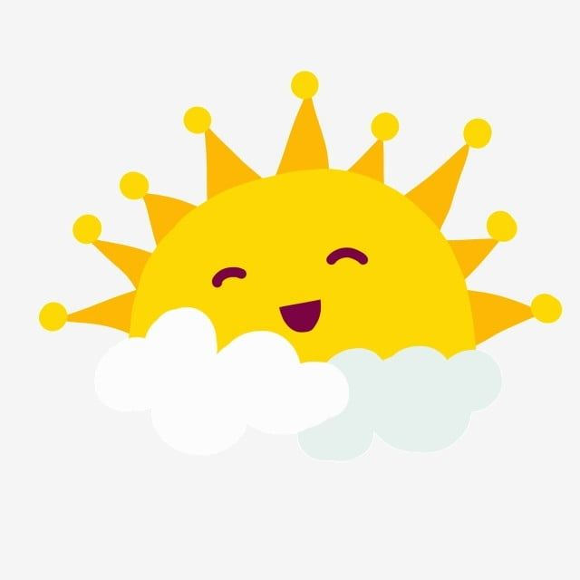 Yellow Smiling Sun In The Clouds Smile Clipart Sun Yellow Png Transparent Clipart Image And Psd File For Free Download Cartoon Sun Cute Sun Cute Doodles