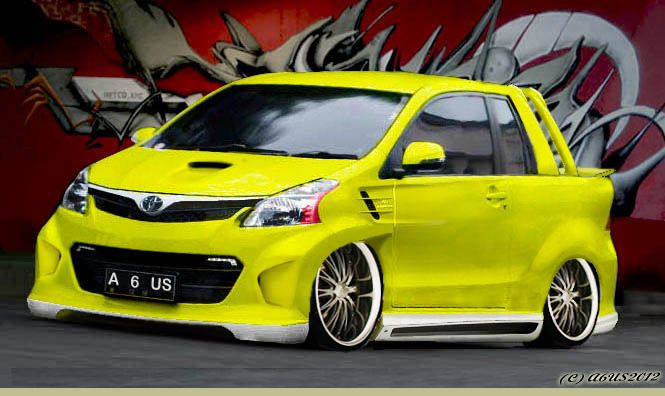 Inspirasi Modifikasi Wide Body Avanza Veloz