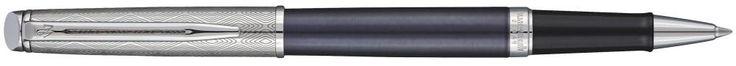 Ручка-роллер Waterman Hemisphere Deluxe Privee черный F 1971679
