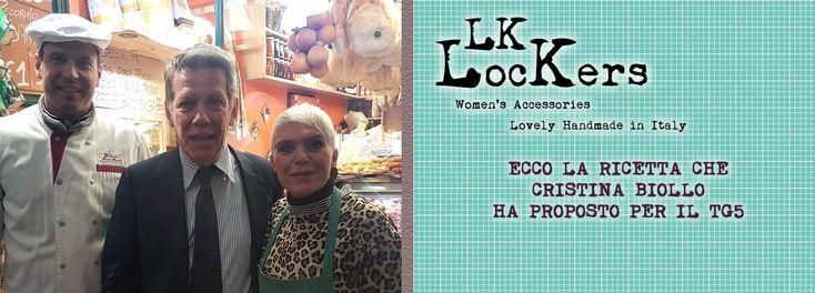 LK-Lockers - Accessori in Pelle - LK-Lockers – Accessori in pelle: Cristina Biollo alla trasmissione Gusto