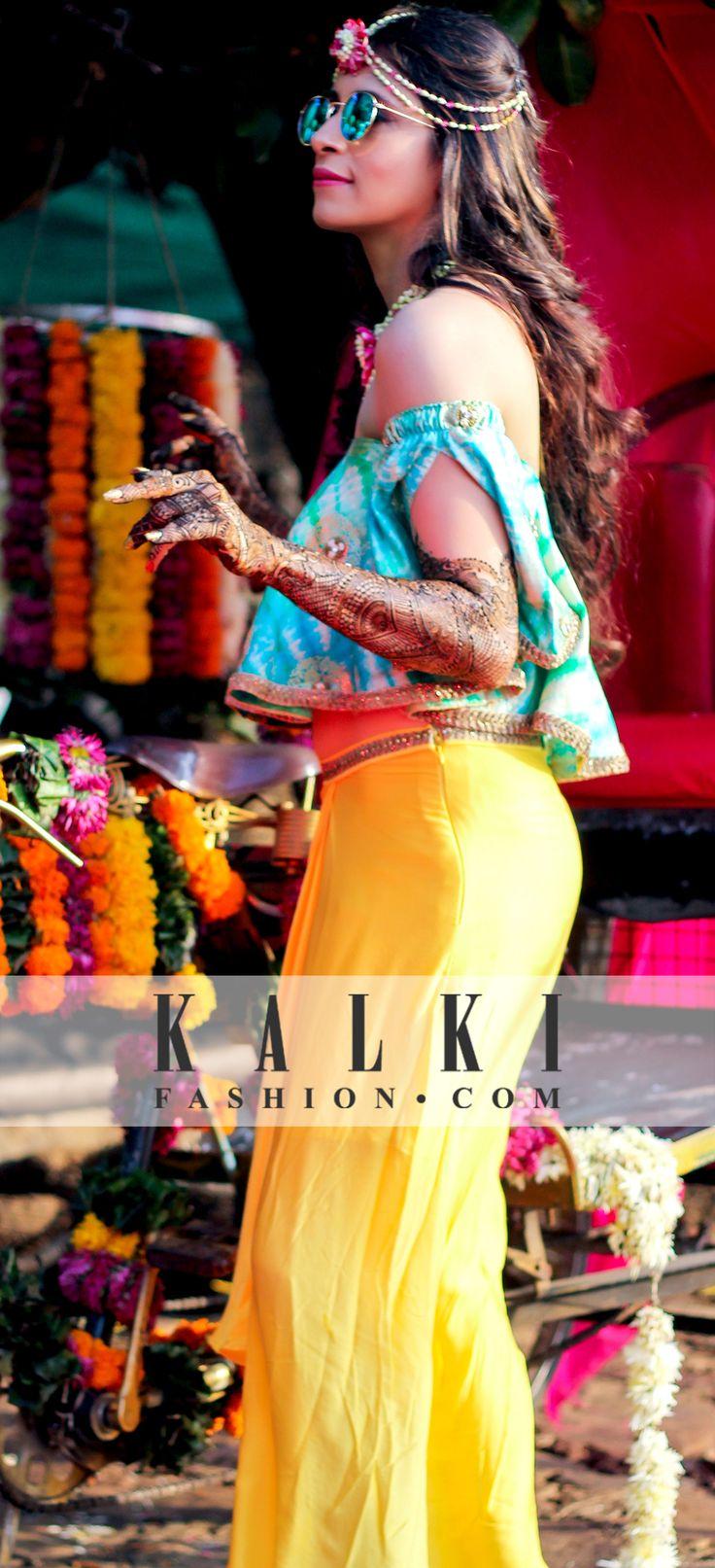#kalkibride Kishwer dazzling at her Mehendi Ceremony