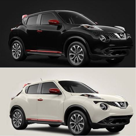 Introducing the #JUKE RED Edition. With only 500 available you need to decide quickly! Super Black or Pearl White?  #Nissan #Power #AWD #Crossover #Design #Sport #Customize #Cool #BucketSeats #Motorsport #DNA #Attitude #Shift #Colour #Performance #Thrill #Dynamic #Adapt #Handling #CommandCenter #RearviewMonitor #NissanConnect #Navigation #AgincourtNissan #Premier #Car #Dealership #ExceptionalService #Toronto #TestDrive