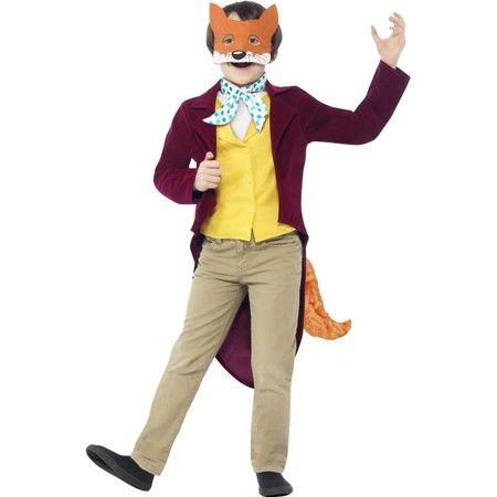 Childs Roald Dahl Fantastic Mr Fox Costume | Online Joke Shop
