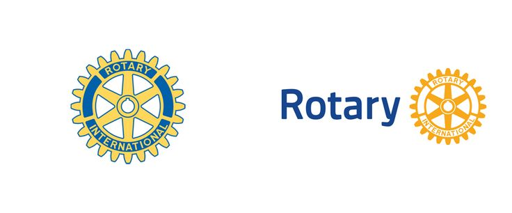 "New Logo and Identity for Rotary by Siegel+Gale. Established in 1905, Rotary is a ""global network of volunteer leaders dedicated to tackling the world's most pressing humanitarian challenges"""