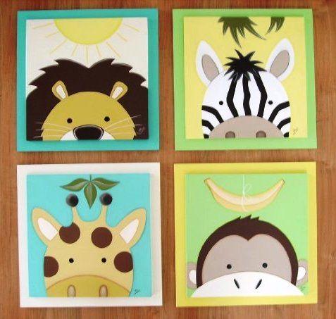 Cuadros decorativos infantiles.