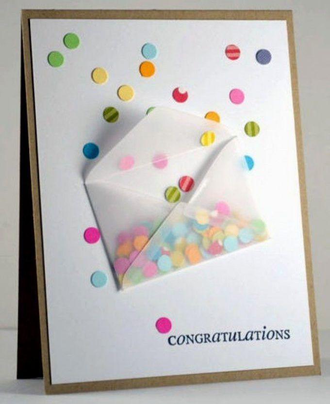 Мк открытка своими руками на день рождения от ребенка