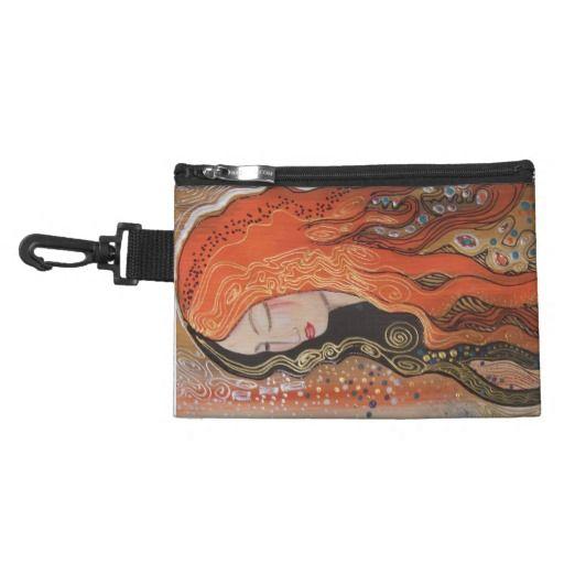 Ginger Lady Elegant Clip Accessory Bag Art Nouveau