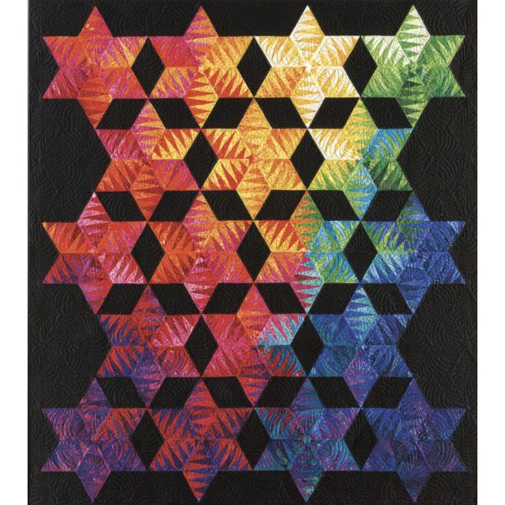 Light Into Darkness Quilt Pattern