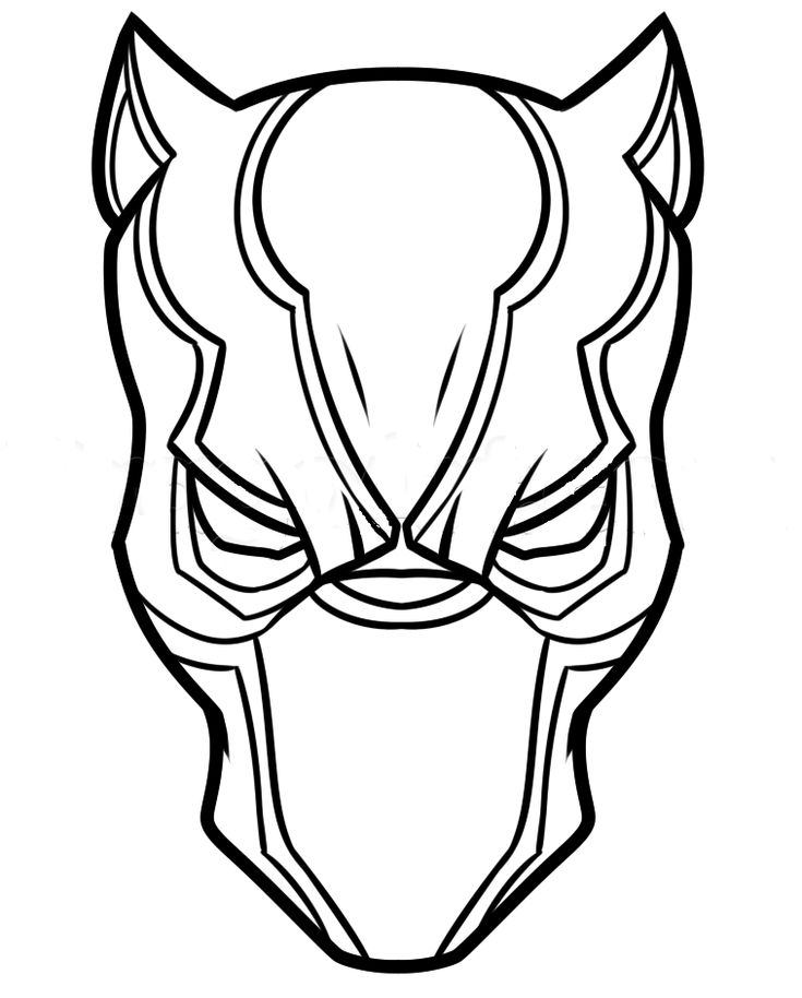 Coloring Pages Of Black Panther