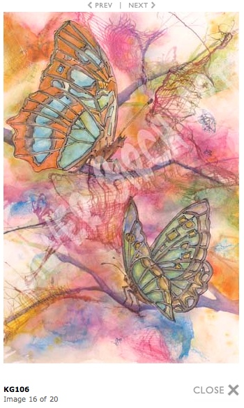 A special painting by Northern Wisconsin artist, Katie George. art butterflies painting