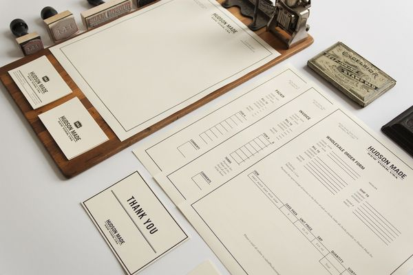 Hudson Made: Brand Identity by Hovard Design , via Behance