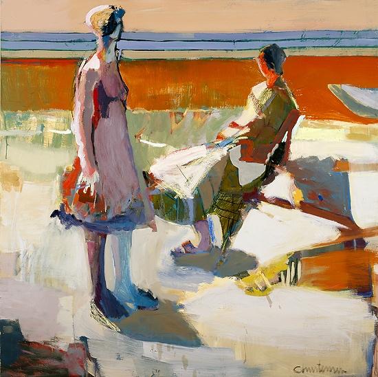 Linda Christensen Day Oil on Canvas 60inX60in