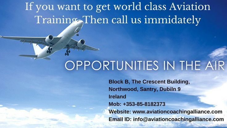 If you are searching the best and suitable Flight Training Schools Near ME? Then stop your search and visit Aviation Coaching Alliance. It is the best and renowned institute of flight training in the entire Ireland. For join us visit our website or call us at +353-85-8182373.