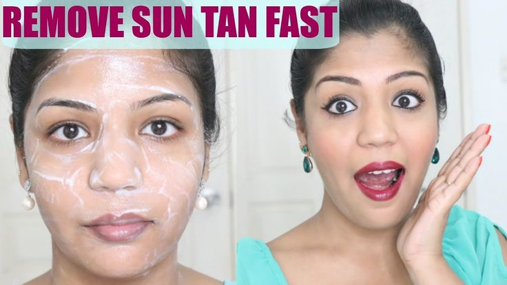 Sun Tan Removal - how to remove tan at home || 3 ways to remove sun tan ...