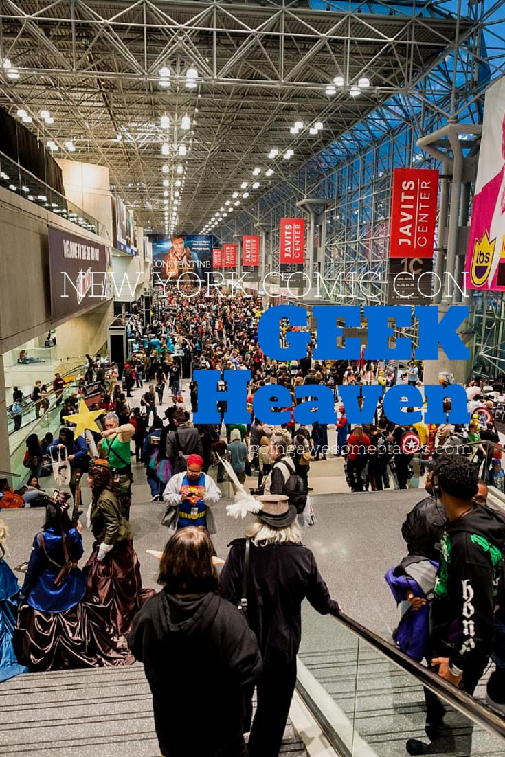 An inside look at New York Comic Con