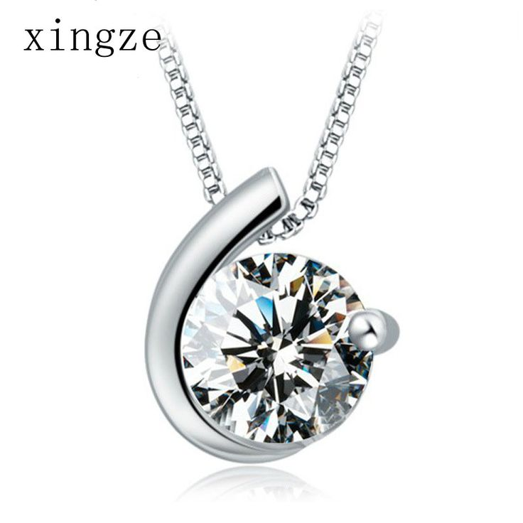 Find More Pendants Information about Hypoallergenic silver plated jewelry moon bay white(no chain)zircon pendant for women fine jewelry wholesale,High Quality jewelry organizer necklaces,China jewelry personalized necklaces Suppliers, Cheap necklace stainless from Xingze Jewelry store on Aliexpress.com
