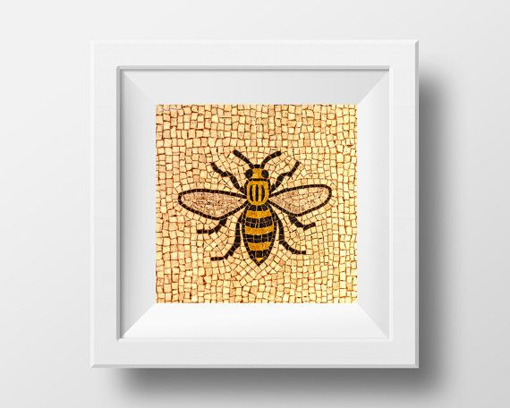 The Manchester Bee, a fine art print