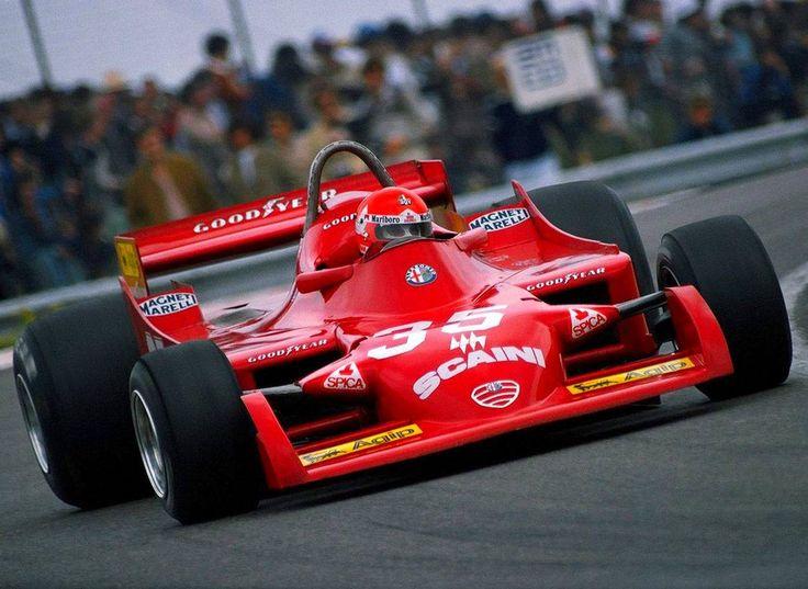 Bruno Giacomelli, Alfa Romeo T177 at Dijon 1979