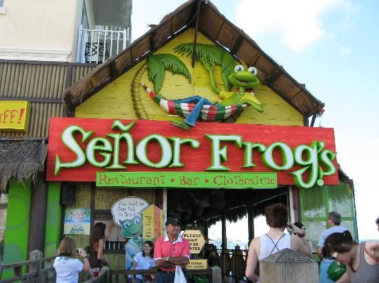 Senior Frogs, Playa del Carmen.  Been there and had so much fun with the employees.