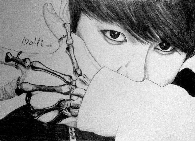 Jungkook Bts Drawings: 63 Best Jungkook