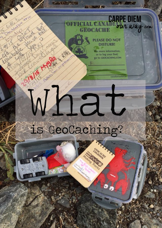 What is GeoCaching? a Lesson from Carpe Diem OUR Way as they find their first GeoCache!