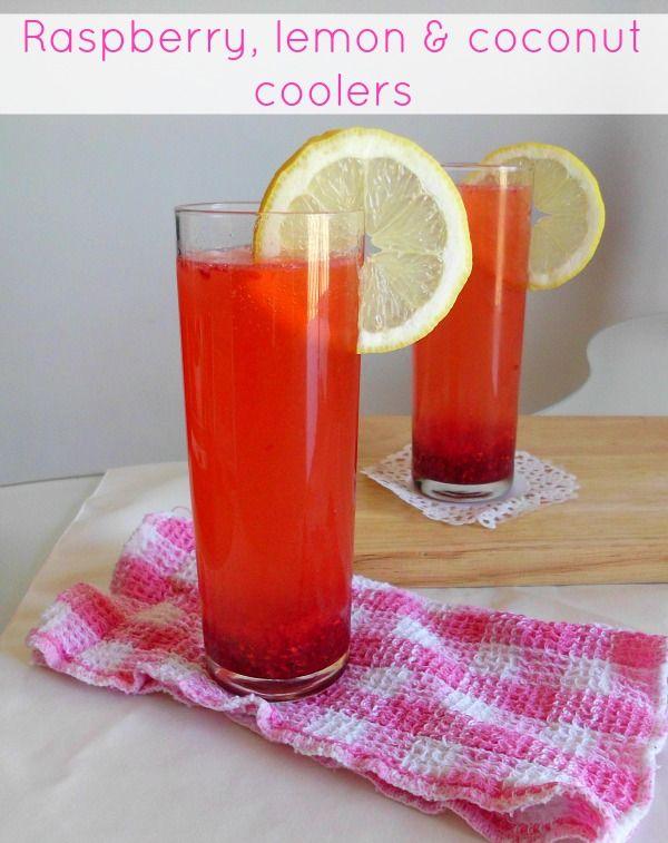 Frozen Treats | Raspberries, Coolers and Coconut
