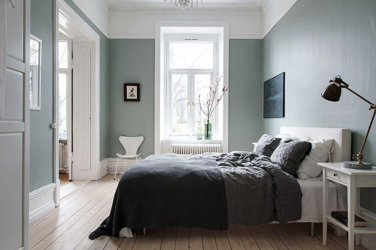 Rummet går att nyttja som sovrum eller matsal