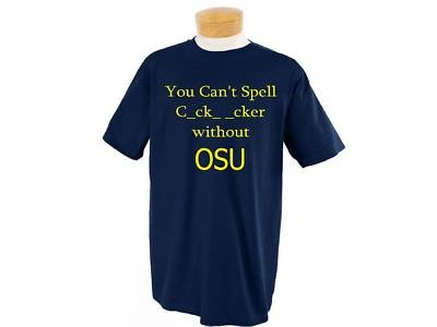 Funny U of M OSU University of Michigan T Shirt | eBay
