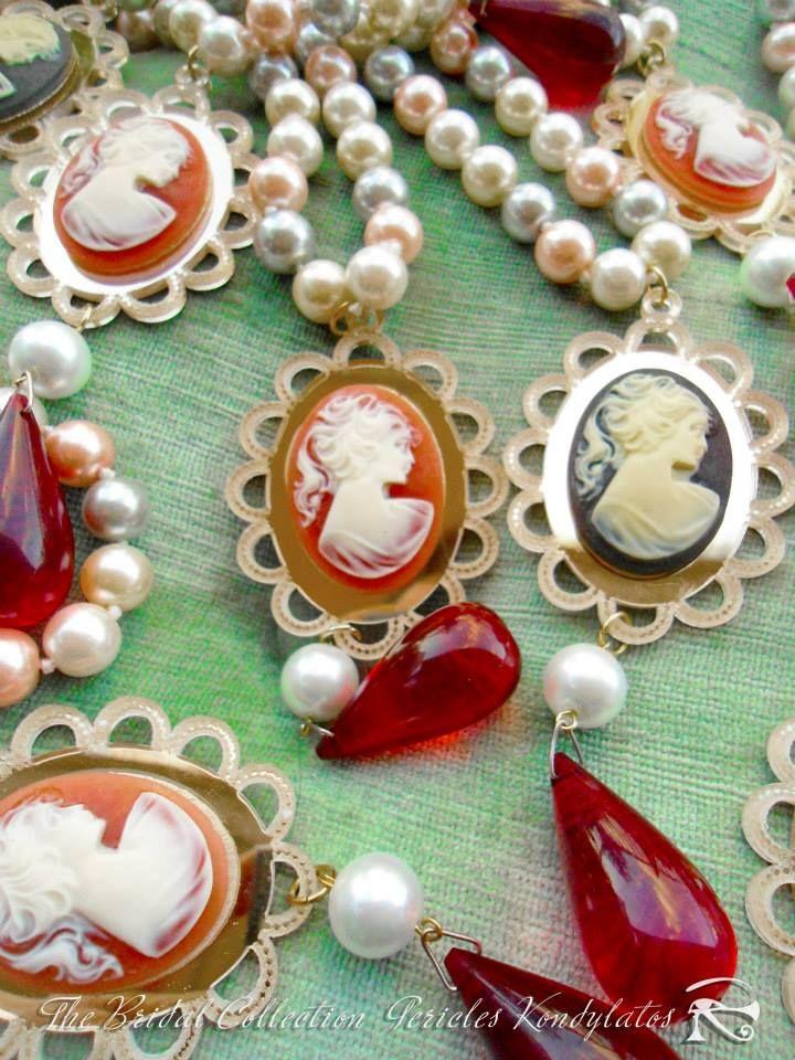 "The ""Bridal Collection"" The Bridal Collection by Pericles Kondylatos Romantic Jewellery for brides available at Vassilis Zoulias Boutique Akadimias 4 & E-Outfit.com boutique Tsakalof 16 Athens."
