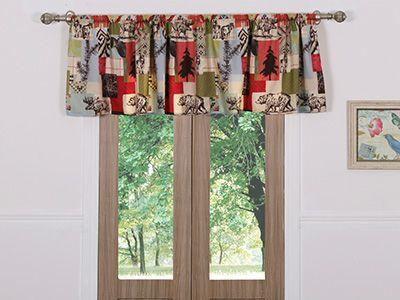 Rustic Lodge- Window Valance  GREENLAND HOME FASHIONS