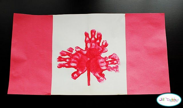 I'm loving all the patriotic kids crafts for the US, so here's a good one for Canada Day next year