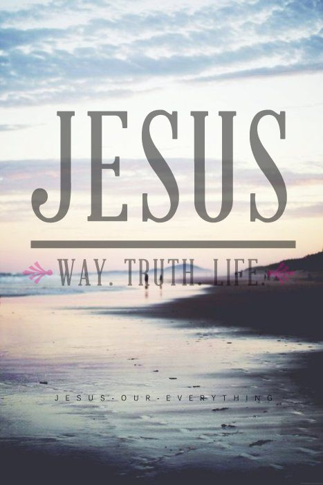 Jesus — Way. Truth. Life. please help the persecuted christians. www.opendoors.org