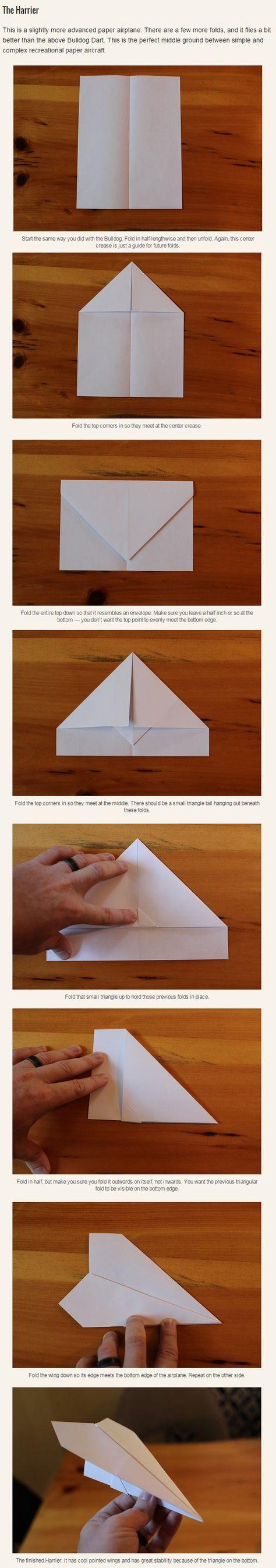 du willst einen guten papierflieger bauen versuch doch. Black Bedroom Furniture Sets. Home Design Ideas