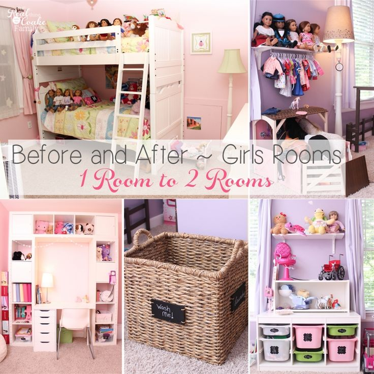 Girls Bedroom Ideas ~ Moving My Girls from 1 Room to 2 Rooms » The Real Thing with the Coake Family