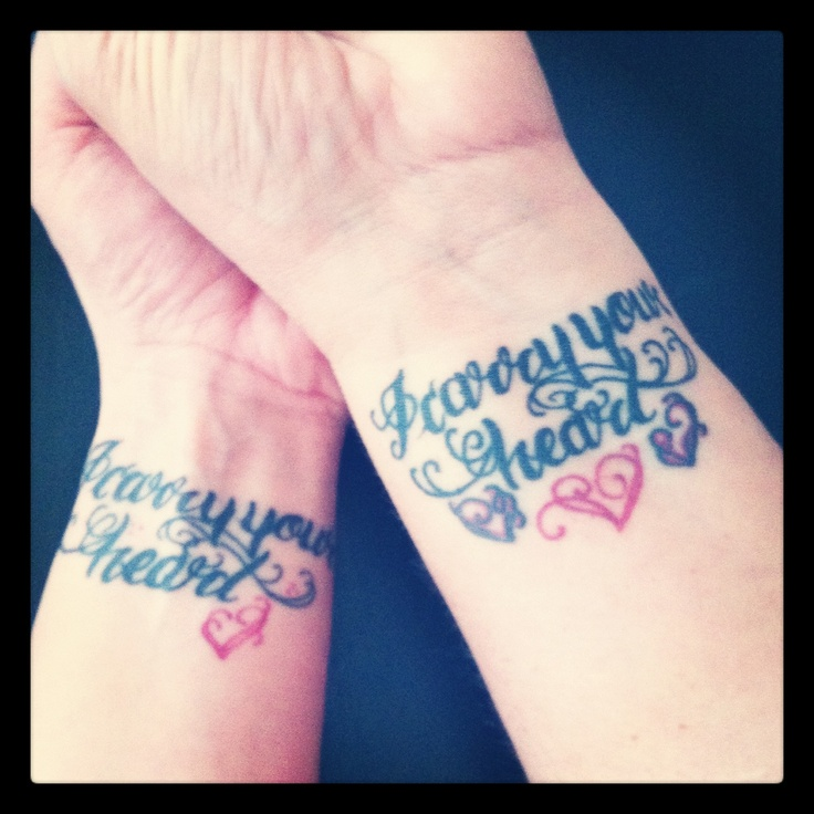47 Best Mother Daughter Tattoos Images On Pinterest