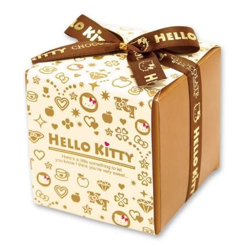 hello kitty knot packaging box