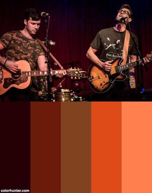 Coffee Shop Arena Rock 04/15/2017 #1 Color Scheme from colorhunter.com