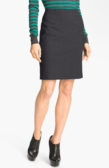 Halogen® Ponte Pencil Skirt available at #Nordstrom