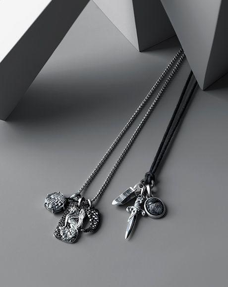 david yurman menu0027s tag necklaces dog tag necklaces for men