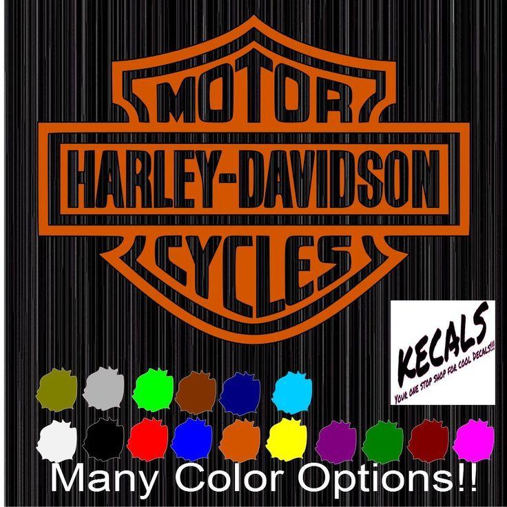 Best Harley Davidson Decals Ideas On Pinterest Harley - Stickers for motorcycles harley davidsonsharley davidson decalharley davidson custom decal stickers