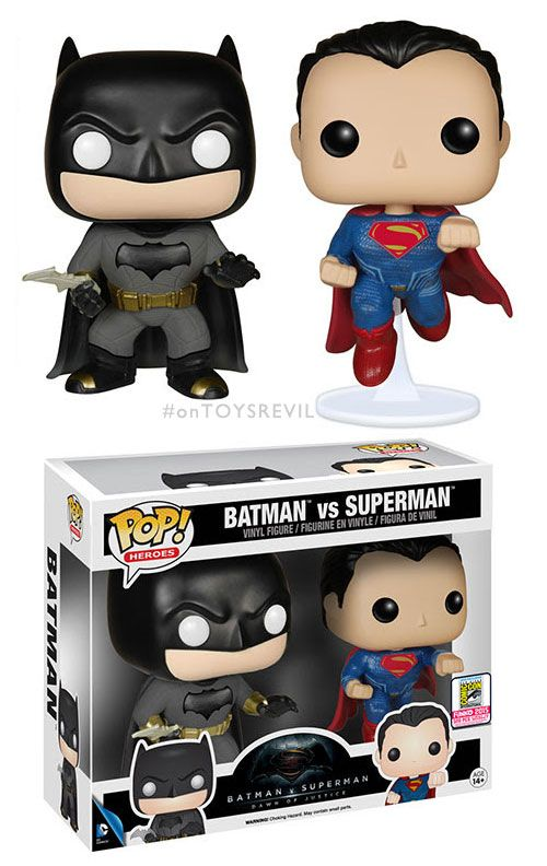 Pop! Heroes: Batman v Superman