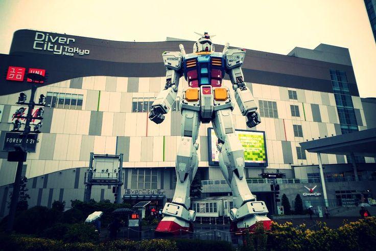 Robot Gundam - Odaiba Island