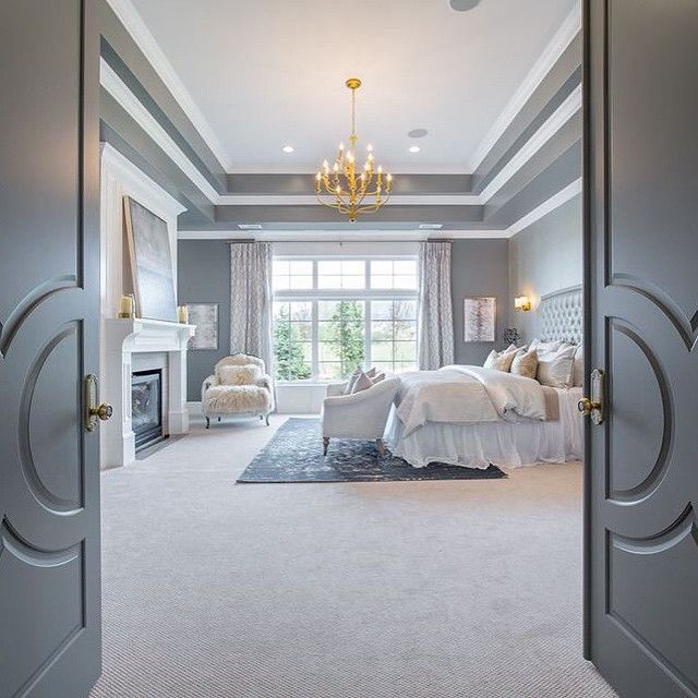 Master Suite #highlandcustomhomes #24highlandhideawaymanor photography by Nick Bayless Photography