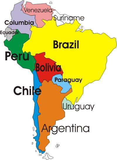 I will explore the magnificient continent that is South America
