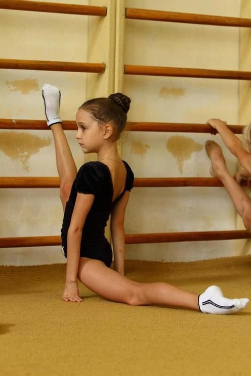 Hannah- she thinks her ballet stretches make her sore!