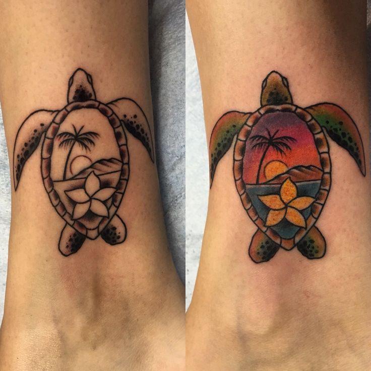 Best 25+ Sea turtle tattoos ideas on Pinterest | Turtle tattoos, Turtle tattoo designs and ...