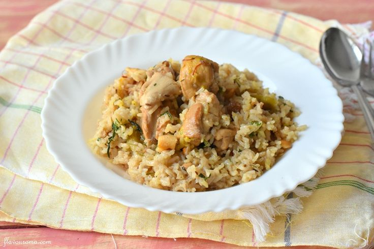 Chicken Pulao Recipe - A quick one-pot rice dish with the flavors of whole spices and yogurt, & richness of cashews and raisins adorning the juicy chicken.