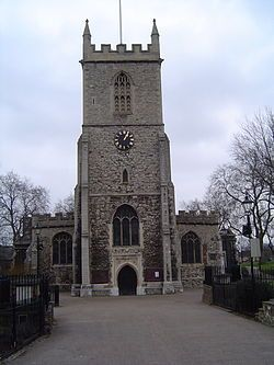 St Dunstan's, Stepney is an Anglican Church which stands on a site which has been used for Christian worship for over a thousand years. It is located in Stepney High Street, in Stepney, London Borough of Tower Hamlets